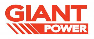Giant Power Logo - orange on white